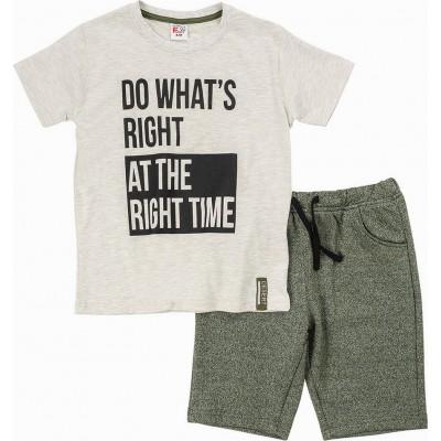 Σετ μπλούζα & βερμούδα FUNKY (Μεγέθη: 6)