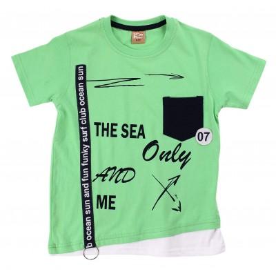 Μπλούζα/The sea and only me (Μεγέθη: 6,10,14,16)