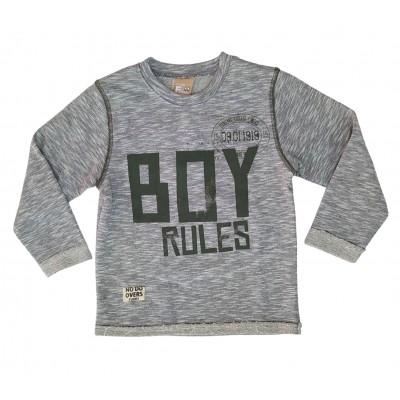 Μπλούζα/Boy rules (Μεγέθη: 3)