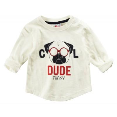 Μπλούζα/Dude (Μεγέθη: 6Μ,9Μ,12Μ,24Μ)