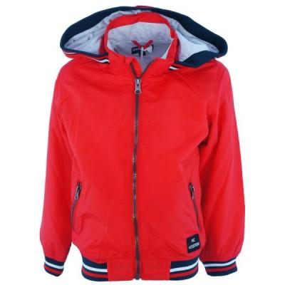 Εποχιακό μπουφάν κόκκινο (Μεγέθη: 8,10,12,14,16)