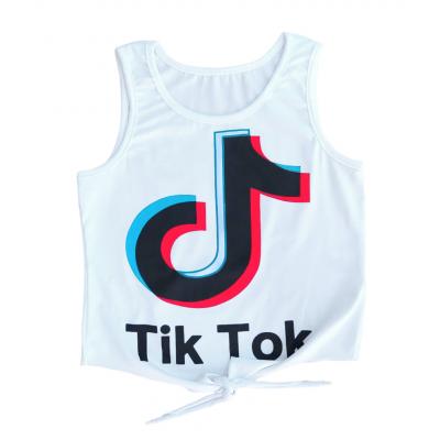 Αμάνικη Μπλούζα Tik Tok (Μεγέθη: 6)