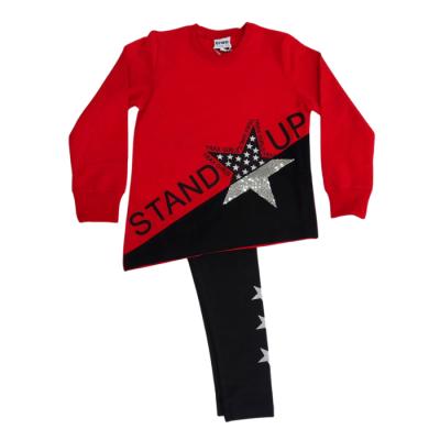 Σετ μπλουζοφόρεμα & κολάν/Stand up (Μεγέθη: 6,8,10,12,16)